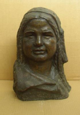 Марина Давыдовна Рындзюнская. Portrait of Mamlakat Nakhangova