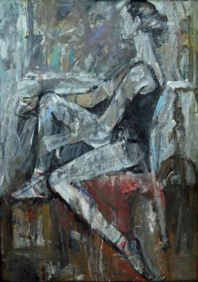 Ekaterina Konstantinovna Krestyaninova. Ballerina.