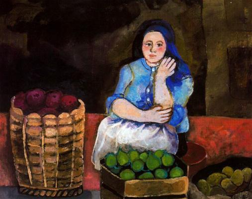 Данс Мария Антония Боадо. Женщина и корзина