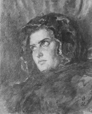 Леонид Александрович Усайтис. Портрет Сестры