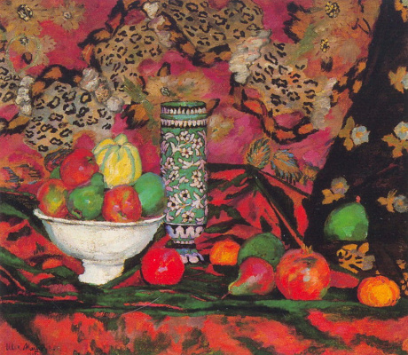 Ilya Ivanovich Mashkov. Still life with fruits