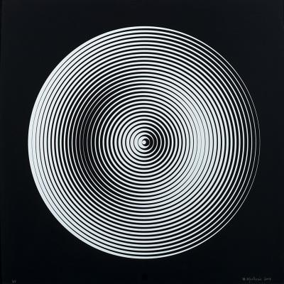 Marina Apollonio. Circular dynamics 008