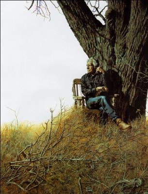 Ричард Корбен. Под деревом