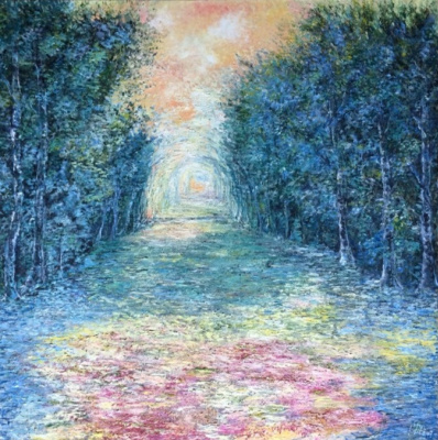 Galina Nikolaevna Silina. ,, The road to Monet ,,