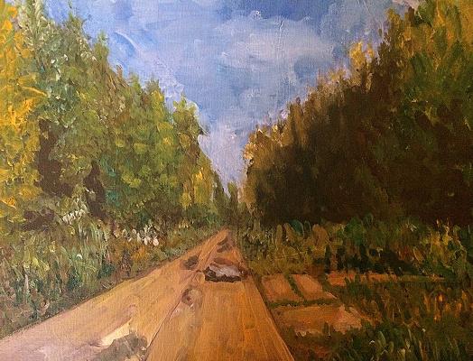 Ekaterina Vasilievna Solonar. The road to the lake
