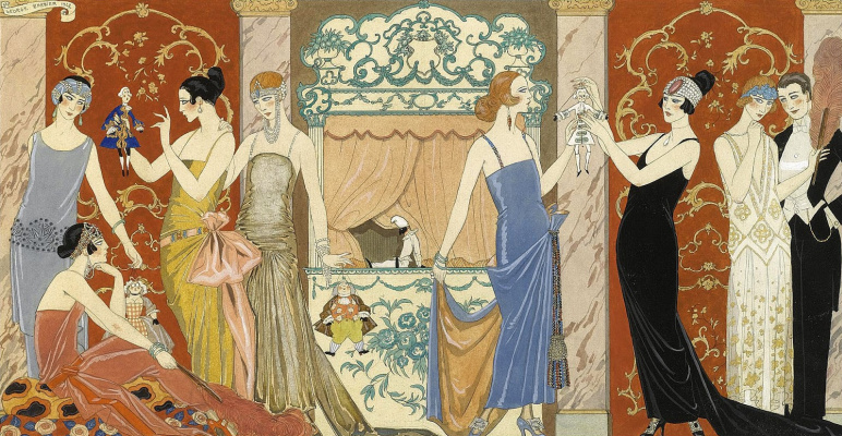 Georges Barbier. Puppets
