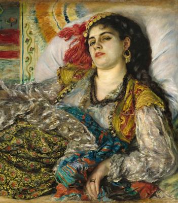 Pierre-Auguste Renoir. Odalisque (fragment)