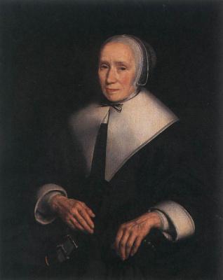 Nicholas Mas. Female portrait