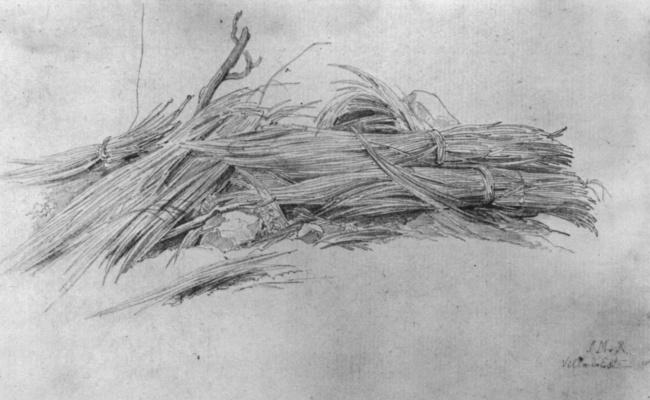 Иоганн Мартин фон Роден. Вязанки камыша