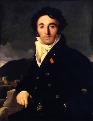 Jean Auguste Dominique Ingres. Portrait Of Charles-Joseph-Laurent Cordier