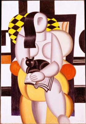 Fernand Leger. Cat woman