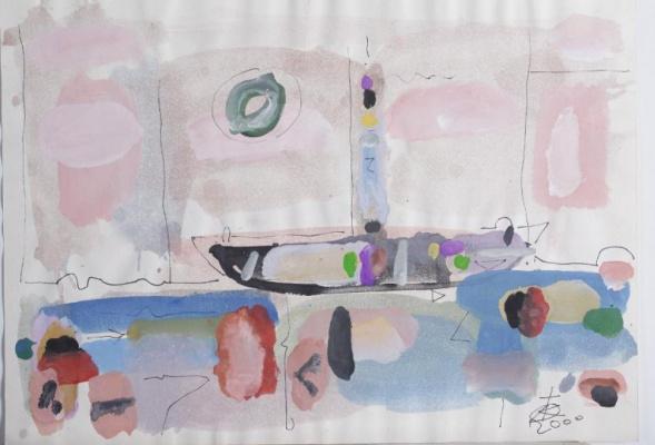 Igor Vasilyevich Kislitsyn. Boat and sun