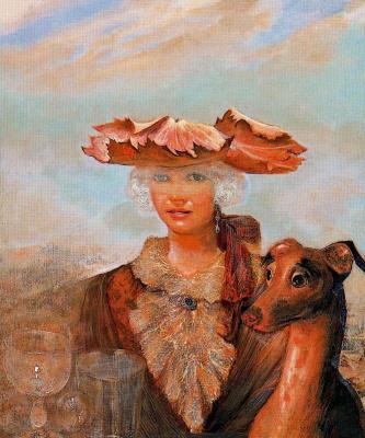 Гинес Лиебана. Дама с собакой