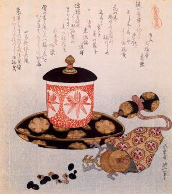 Кацусика Хокусай. Чай и ключи