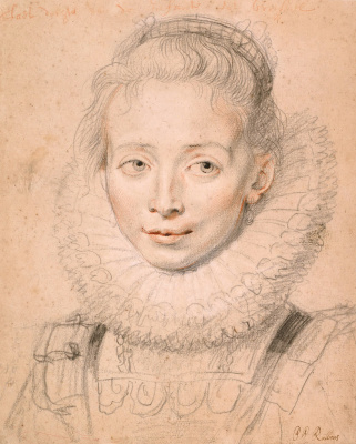 Peter Paul Rubens. Portrait of the Infanta Isabella