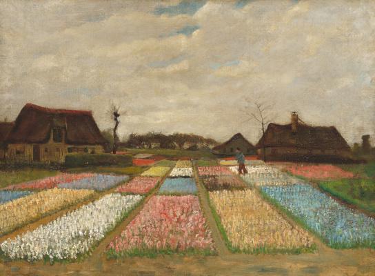 Vincent van Gogh. Flower fields in Holland