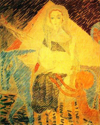 Николай Иванович Кульбин. Бегство в Египет