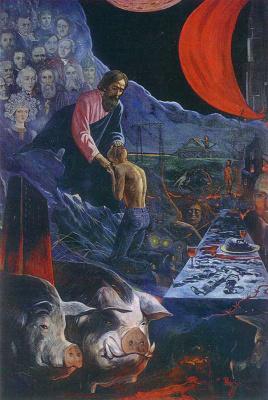 Илья Сергеевич Глазунов. Возвращение блудного сына.1977