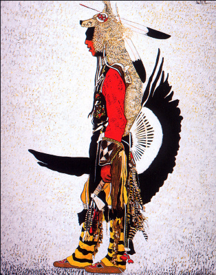 Стар Кевин Ред. Традиционный танцовщик