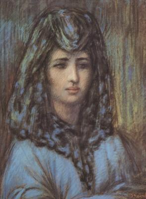 Теофиль-Александр Стейнлен. Портрет испанской женщины