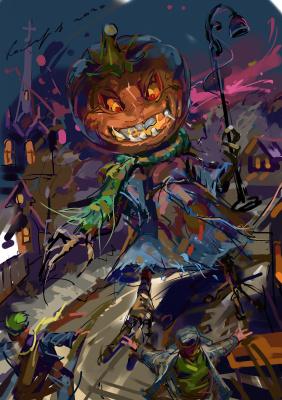 Igor Vladimirovich Komarov. Halloween