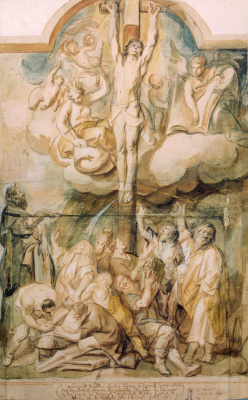 Jacob Jordaens. The Crucifixion