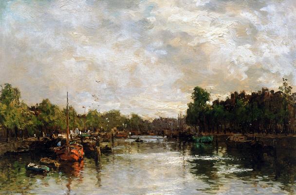 Иннер Харбор в Роттердаме