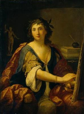 Элизабетта Сирани. Аллегория живописи (Автопортрет)