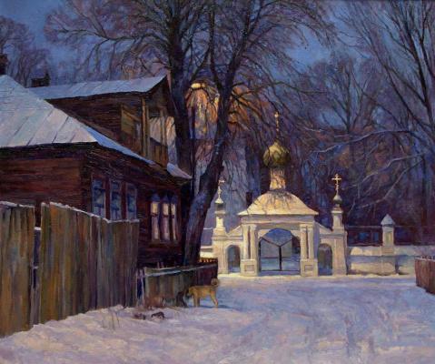 Oleg Borisovich Zakharov. Like in childhood. (Kostroma, the Ipatiev Sloboda )