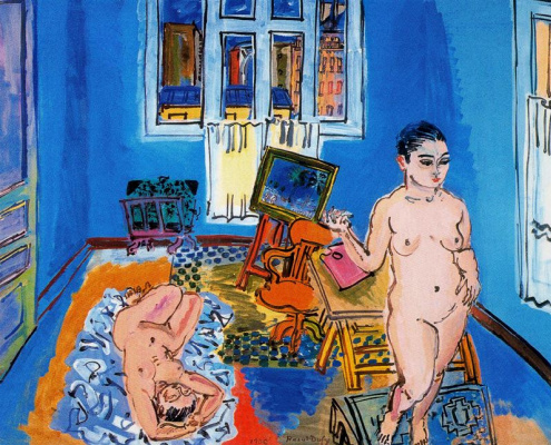 Raoul Dufy. Plot 5