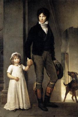 Франсуа Паскаль Симон Жерар. Художник с дочерью
