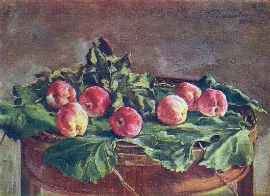 Petr Petrovich Konchalovsky. Apples