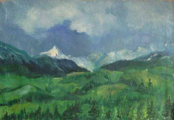 Pavel Markovich Osherov. The mountains