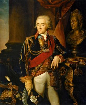 Николай Иванович Аргунов. Портрет графа А. М. Дмитриева-Мамонова