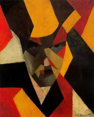 René Magritte. Self-portrait