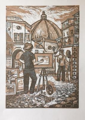 Andrey Leonidovich Shepel. Florentine artist