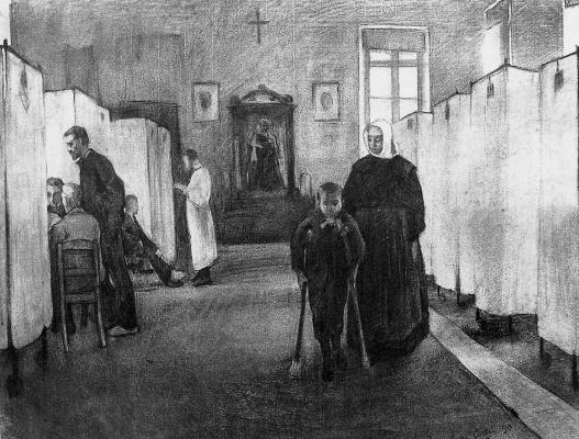 Андре Колин. Внутри больницы