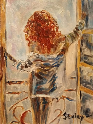 Svetlana Sergeevna Silchuk. Freedom in the red head