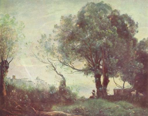 Camille Corot. Landscape Castelgandolfo