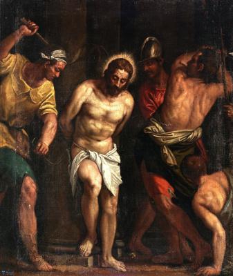 Джакомо Пальма Младший. Избиение Христа