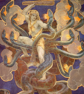 John Singer Sargent. Hercules and the Hydra Lempicka