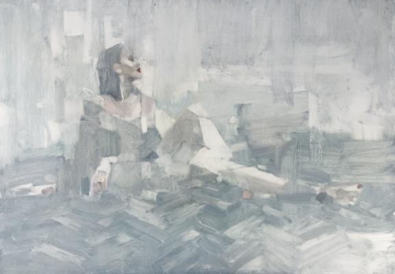 Алишер  Кушаков. Девушка на паркете