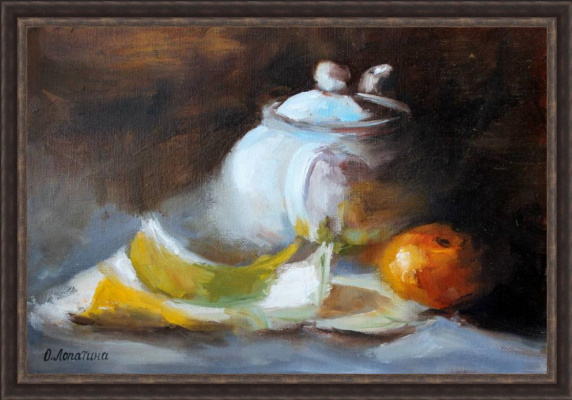 Olesya Alexandrovna Lopatin. Still life with fruits