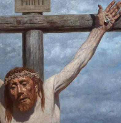 Гелий Михайлович Коржев. На кресте