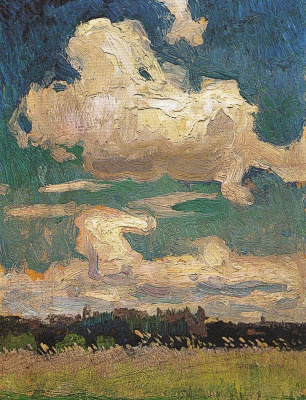 Jan Stanislavsky. Clouds