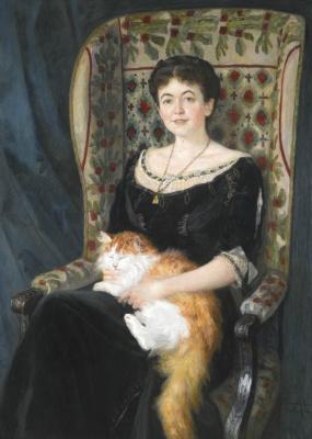 Nikolay Petrovich Bogdanov-Belsky. Portrait of a lady