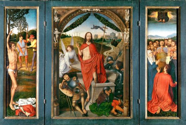 Ганс Мемлинг. Триптих Воскресения Христова