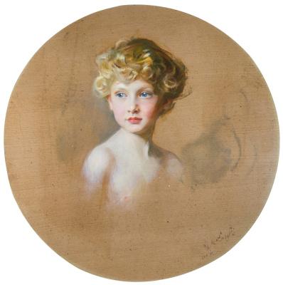 Philip De Alixis Laszlo. Richard George Archibald John Hungerford Lucian Crewe-Milns, Earl of Maidla. 1914