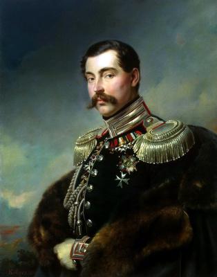 Франц Крюгер. Портрет Андрея Александровича Оболенского