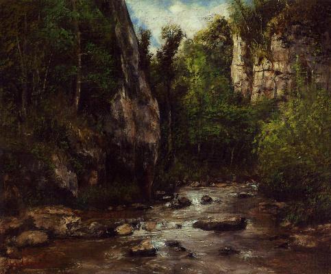 Gustave Courbet. Landscape